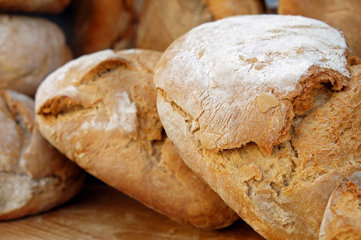 El pan en una dieta