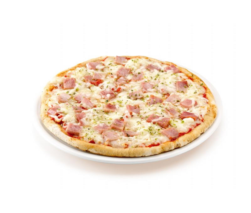 PIZZA JAMON Y QUESO TG 6X400GR
