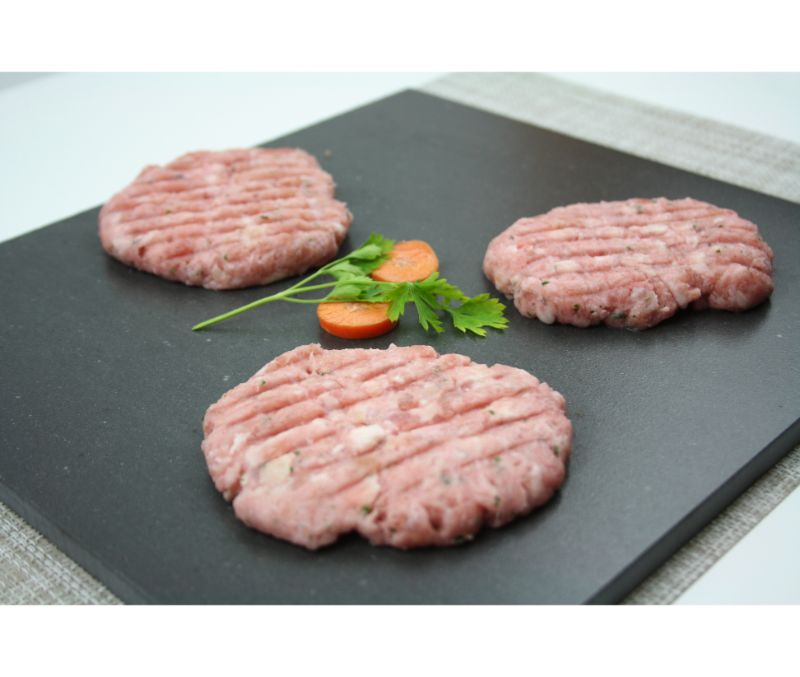BURGER MEAT POLLO BASIC INTERF.1X2,5