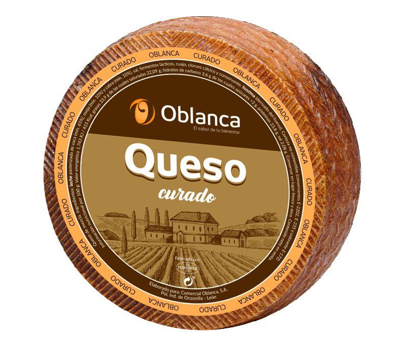 QUESO OBLANCA CURADO 1X3KG APROX.